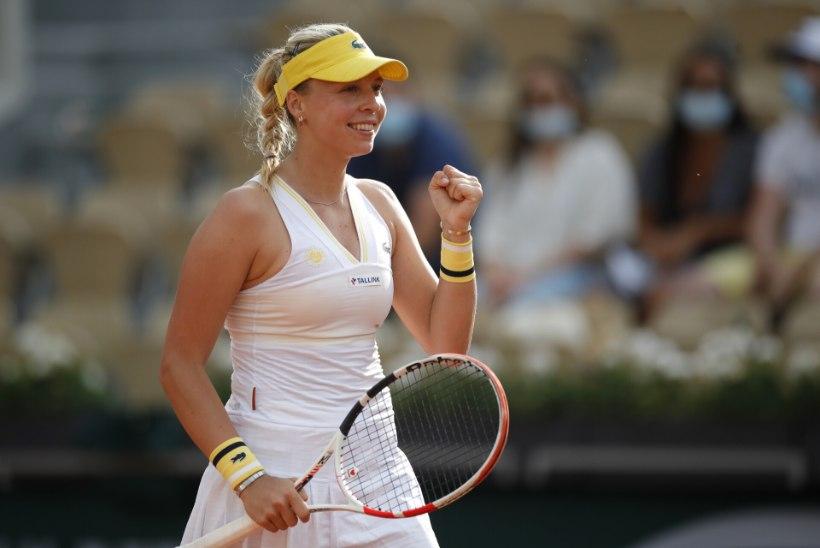 VÕIMAS! Kontaveit pühkis maailma 61. numbriga Roland-Garros' liivaväljakut ja kohtub kolmandas ringis tiitlikaitsjaga