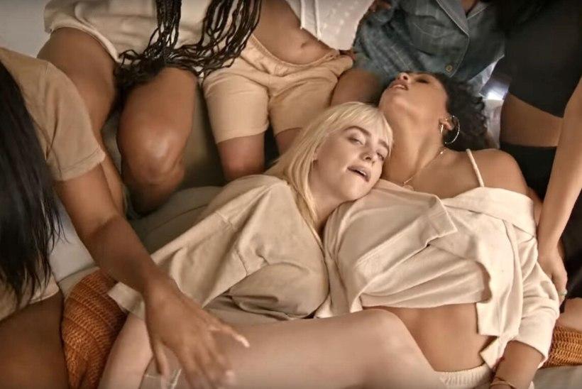 Billie Eilishi seksikas pidžaamapidu ei jäta fantaasiale palju ruumi