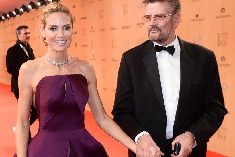 Heidi Klum peab oma lihase isaga isevärki põhjusel kohtulahingut
