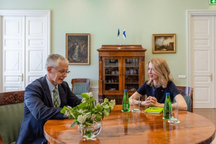 MIKS AINULT LENNUKIGA SAAB? Kallas kohtus Soome suursaadikuga: avaldasin muret rangete reispiirangute üle