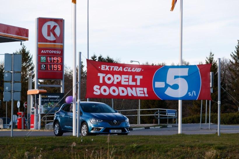 VIDEO   Tallinnas rööviti tanklat, vargad ründasid müüjat ja võtsid kassast kaasa sularaha