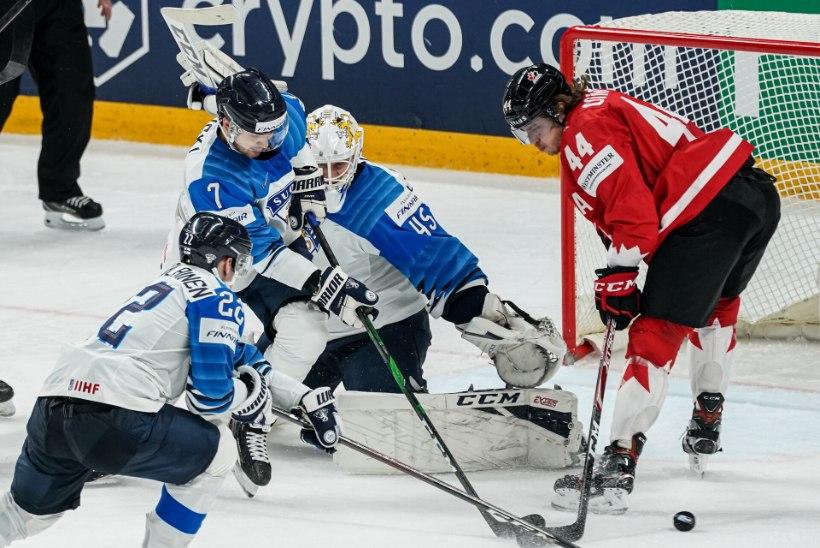 BLOGI JA VIDEOD | Kanada alistas lisaajal löödud väravast Soome ja tuli maailmameistriks