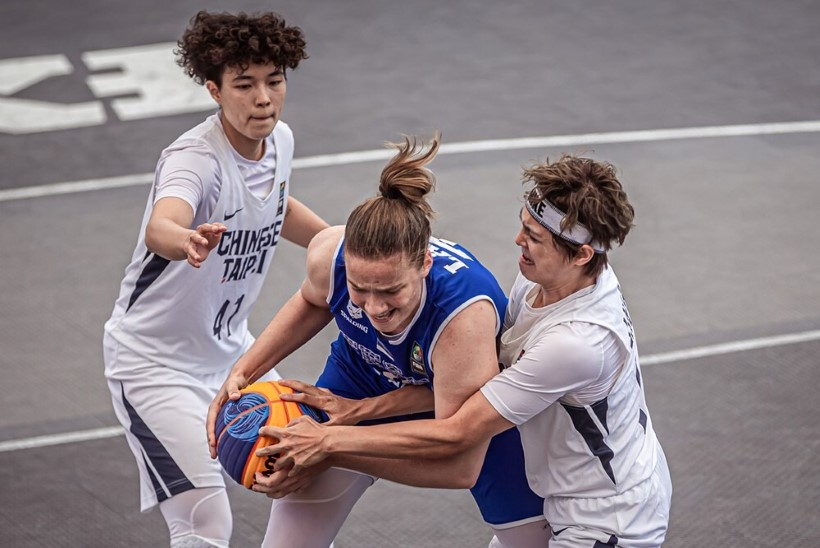 VIDEO   Olümpiapääsmest unistanud Eesti 3 × 3 naiskonna teekonna lõpetas Hiina Taipei