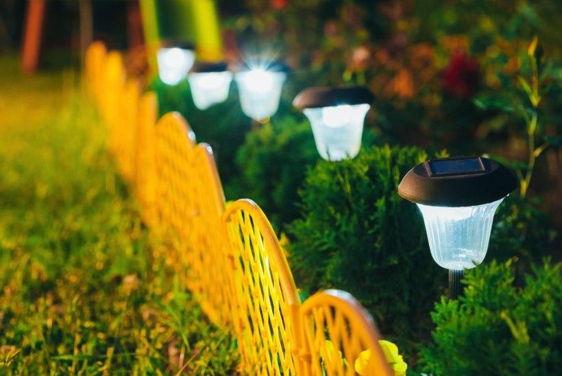 Saagu valgus! Kuidas valida päikesepatareidega õuevalgustit?