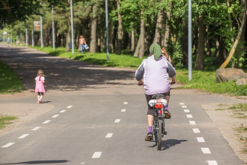 Tuvastatud! Politsei otsis lapsele otsa sõitnud noort jalgratturit