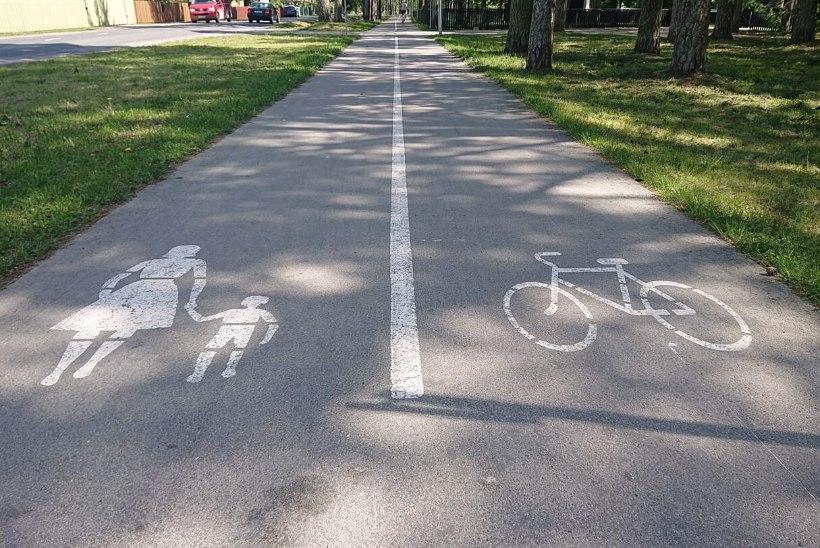 LUGEJA KÜSIB | Kummal teepoolel tohib liigelda ratastooliga sõitja?