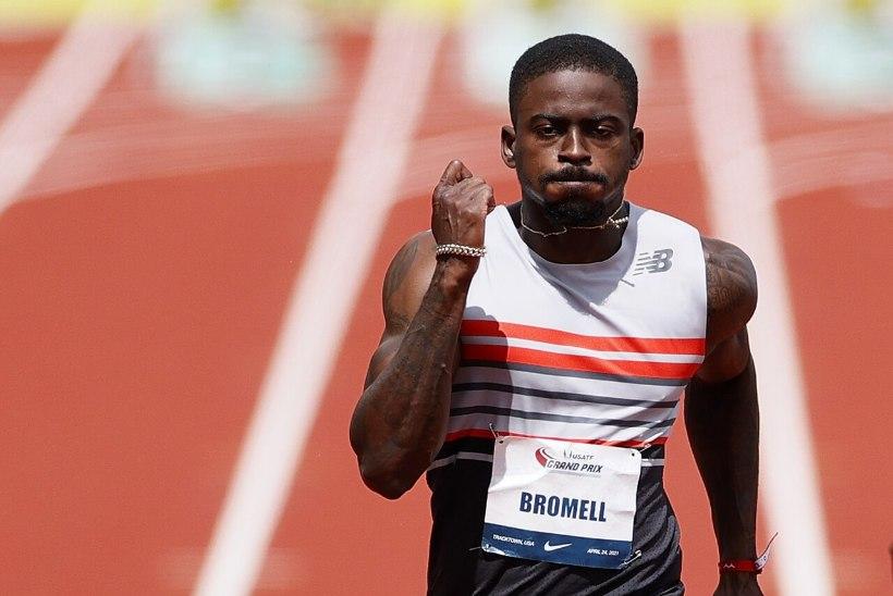 VÄGEV: Trayvon Bromell püstitas 100 meetri jooksus maailma hooaja tippmargi