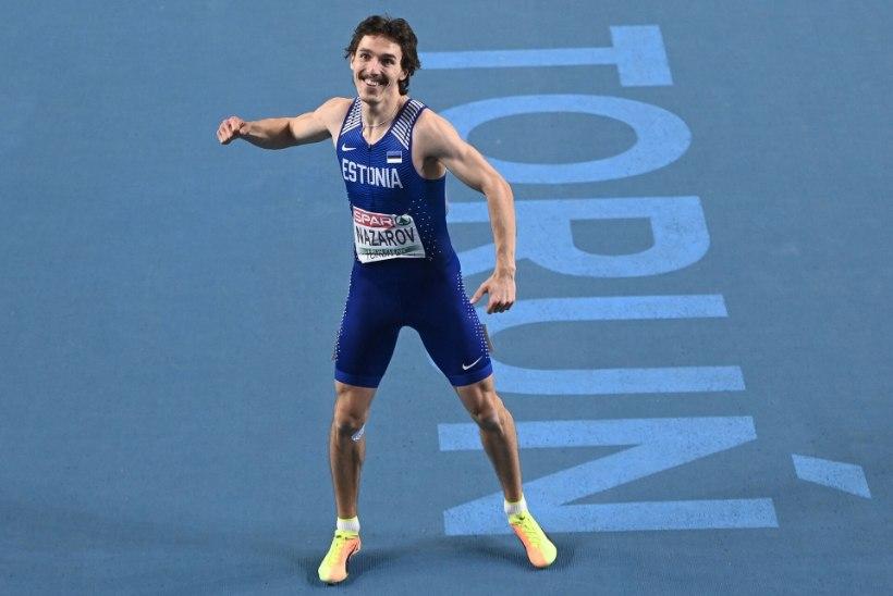 VIDEO   Karl Erik Nazarov püstitas uue isikliku rekordi ja tõusis Eesti kõigi aegade edetabelis neljandaks