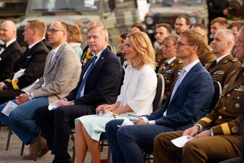 Haruldane vaatepilt! Peaminister Kaja Kallas tõi abikaasa seltskonda