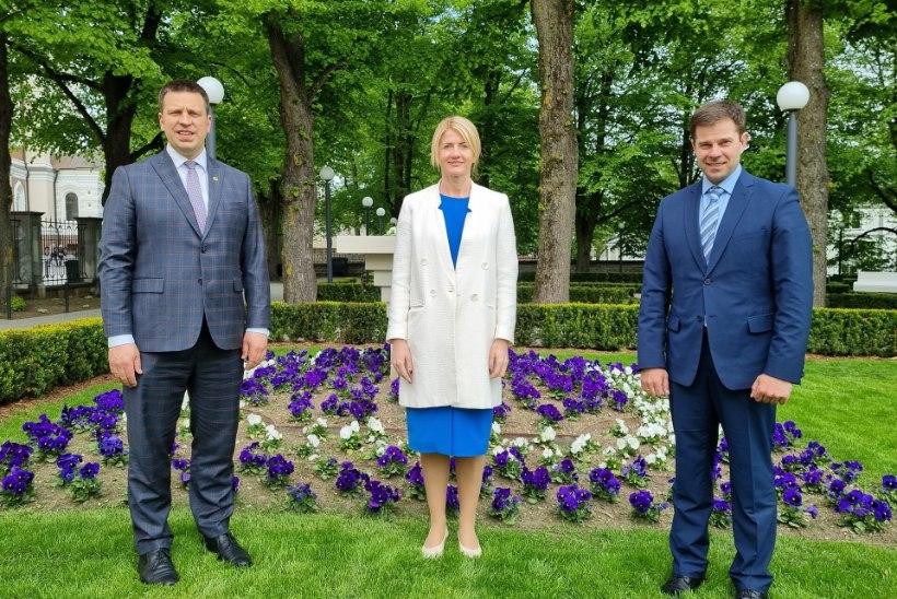 Ministrid Eva-Maria Liimets ja siseminister Kristian Jaani liitusid Keskerakonnaga