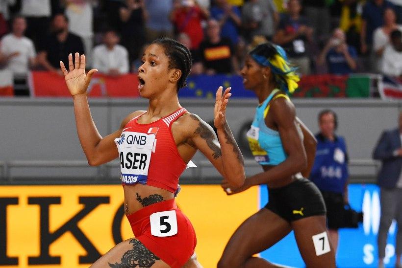 Miller-Uibo ees maailmameistriks tulnud Naserile määrati pikk võistluskeeld