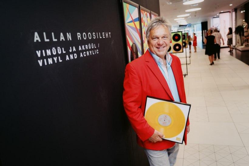 FOTOD | Allan Roosileht avas kunstinäituse: mul oli terve toapõrand pilte täis