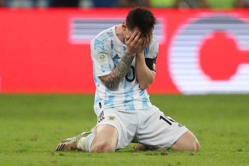 VIDEO | Argentina alistas Copa America finaalis Brasiilia ja võitis üle 27 aasta suurvõistluste tiitli