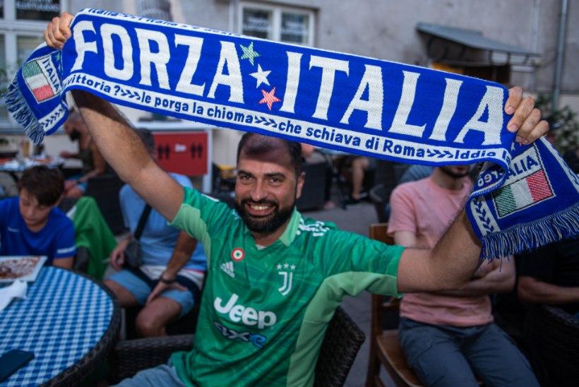 Forza Italia: Tartu itaallased panid võidurõõmu ühte suurde hõiskesse
