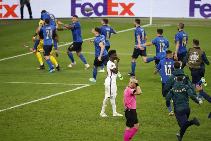 ELAGU! Itaalia võitis penaltiseeria järel Inglismaad ja krooniti Euroopa meistriks