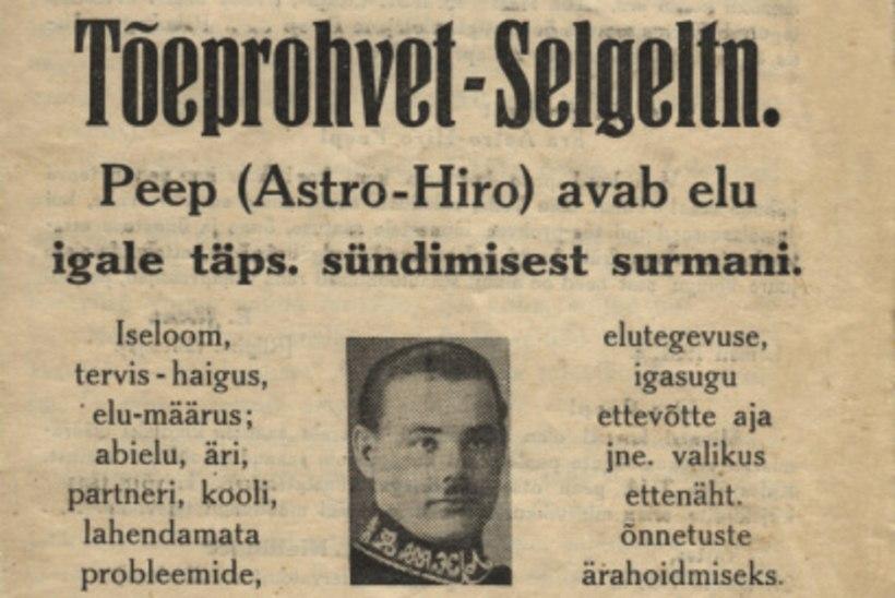 ASTRO-HIRO ENNUSTUSED: Eesti riik kestab 20 aastat. Tuleb sõda. Aga 1991 tuleb Eesti riik jälle!