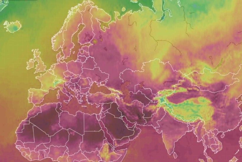 MAAILM PÕLEB: enneolematu kuumalaine räsib karmilt paljusid riike