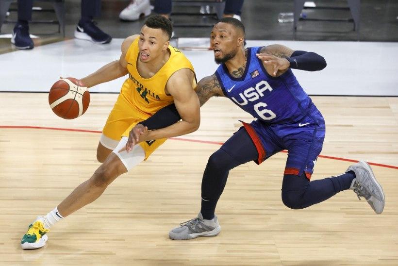 MIS TOIMUB? Tokyo olümpiamängudeks valmistuv USA korvpallikoondis teenis jälle kaotuse
