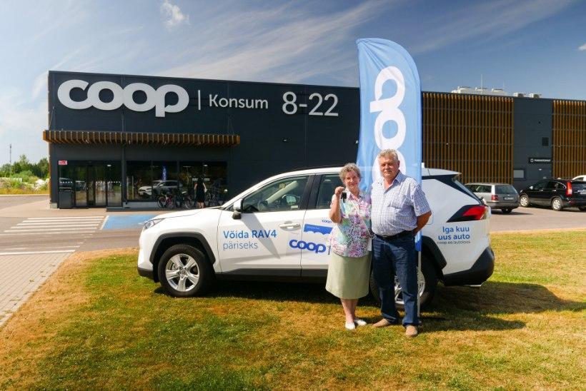 Coopi autoloosi võitja: ma ütlesin juba algusest peale, et sellest saab minu auto!