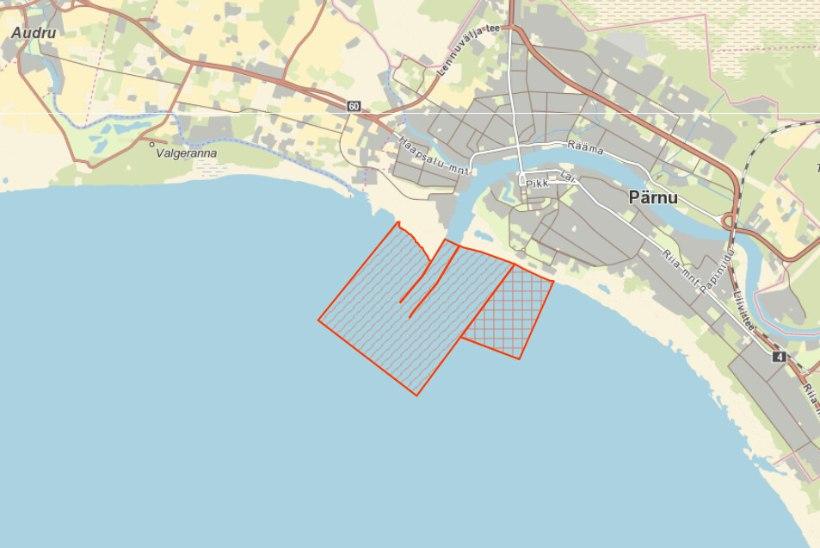 Algab kohapüük Pärnu lahel