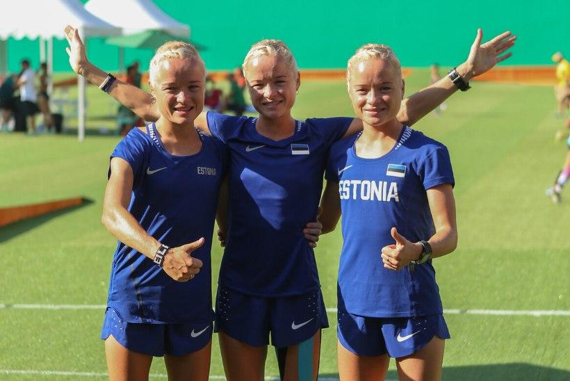 Leila, Liina ja Lily Luik: muidugi seadsime Tokyo endale eesmärgiks, kuid vigastused tulid vahele