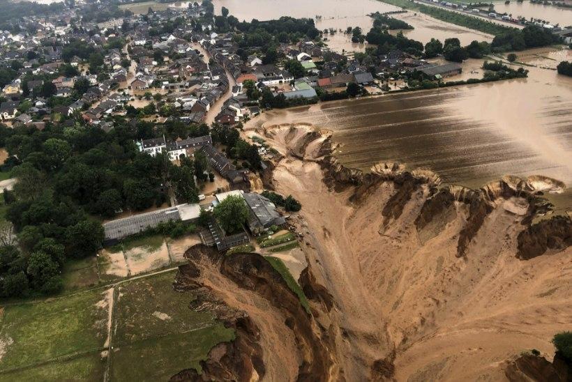 HUKKUNUID ÜLE 90: Saksamaal kardetakse üleujutuste jätkumist
