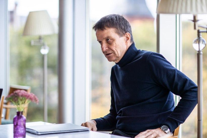 """PEETER ERNITS KUULUTAB: presidendikandidaadiks võib saada Ardo Hansson. Hansson: """"Mulle tundub, et need vihjed on lihtsalt üks tavaline sotsiaalmeedia hapukurgihooaja teema."""""""
