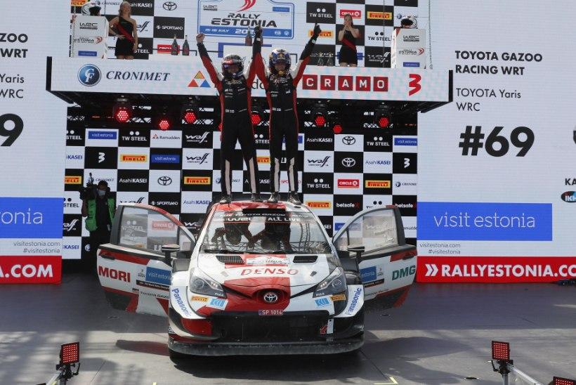 GALERII   RALLY ESTONIA   Rovanperä tuli aegade noorimaks WRC-ralli võitjaks!