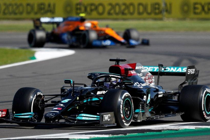 Verstappeni teelt välja ramminud Hamilton sai karjääri 99. etapivõidu