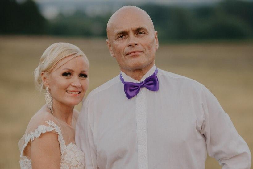 GALERII   Kristiina Võsu oma pulmast: külaline Mart Helme pani rahva korralikult käima