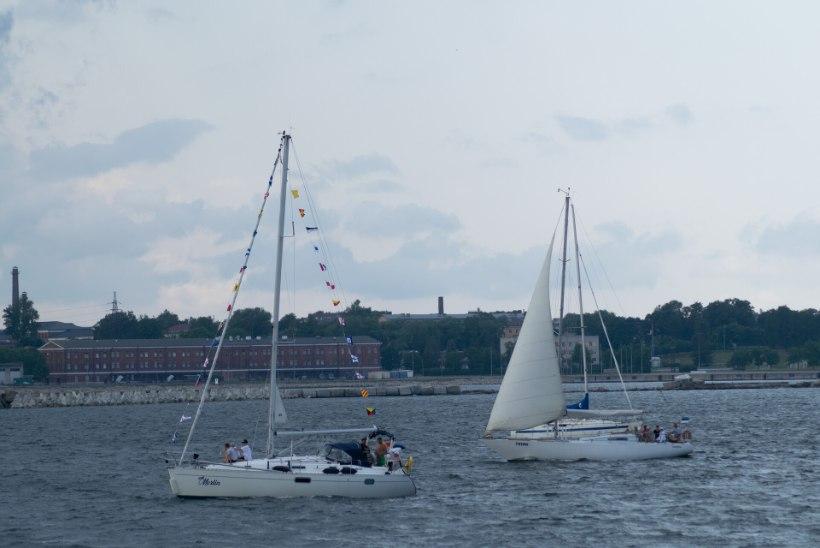 GALERII | Suurejooneline purjelaevade paraad Tallinna lahel