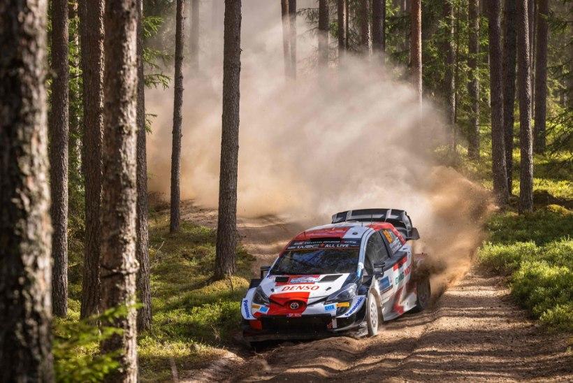 Rally Estonial suurt ajalugu teinud Rovanperä rõõmustas, et karjääri esimene etapivõit tuli just Eestis