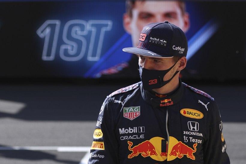 Ajaloolisel sprindisõidul võidutsenud Verstappen ei olnud uue formaadiga rahul