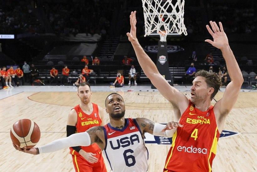 VIDEO | Olümpiafinaali eelvaatus? USA ässad murdsid hispaanlased teise poolajaga