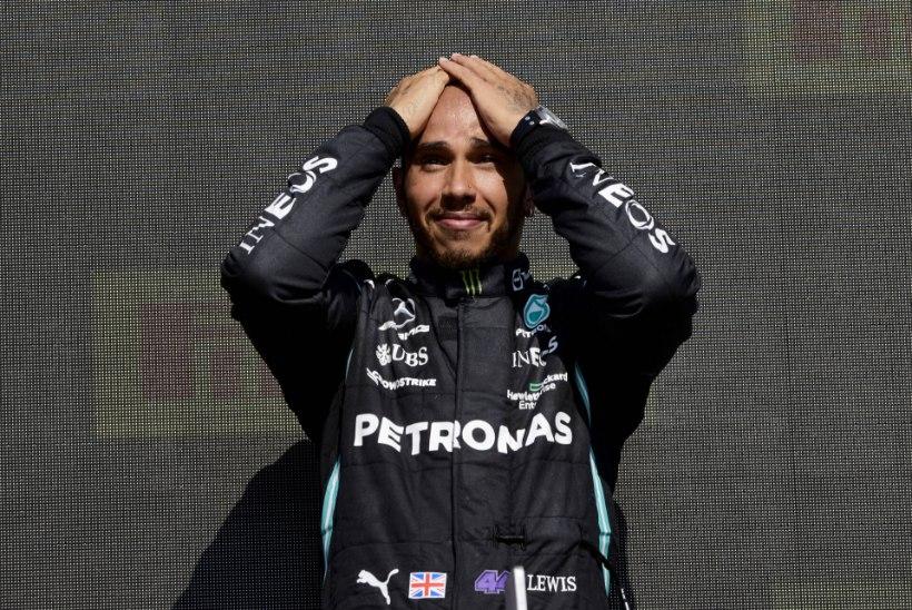 Hamilton sai pärast vastuolulist võitu rassistlike solvangute osaliseks