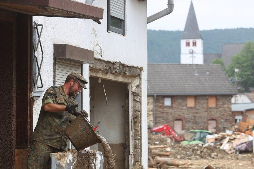 Saksa politsei hoiatab üleujutuste järel petturite eest