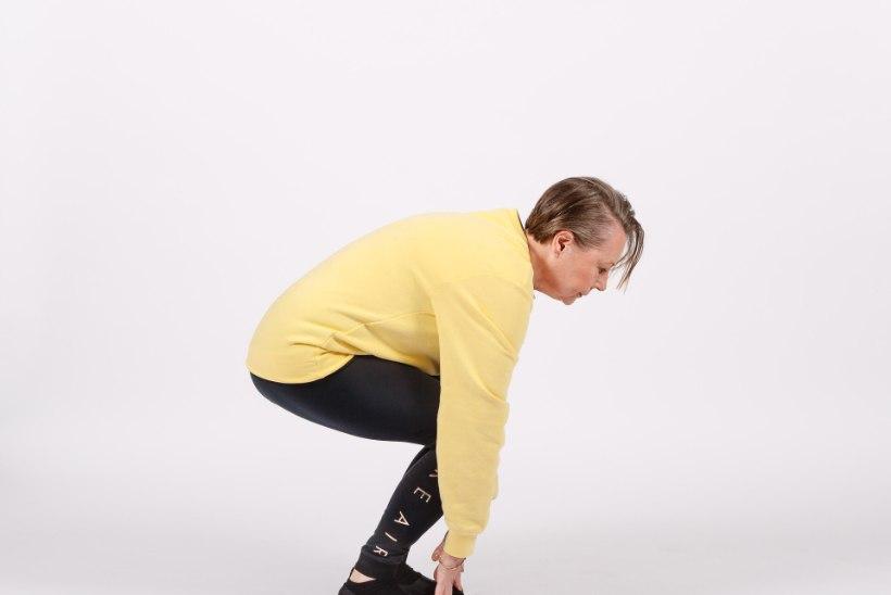 TIIU TREENIB | Kükitage oma jalalihased tugevaks!