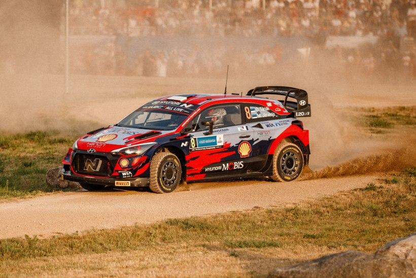 Ralliekspert: võit Rally Estonial oleks Tänaku kõrgesse mängu tagasi toonud, kuid nüüd on tiitliheitlus tema jaoks läbi