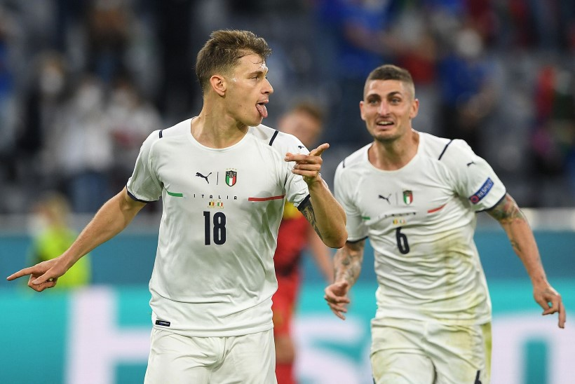 Jalgpalli EMi blogi   Belgia kuldne põlvkond jääb taas tühjade pihkudega, Itaalia kohtub poolfinaalis Hispaaniaga