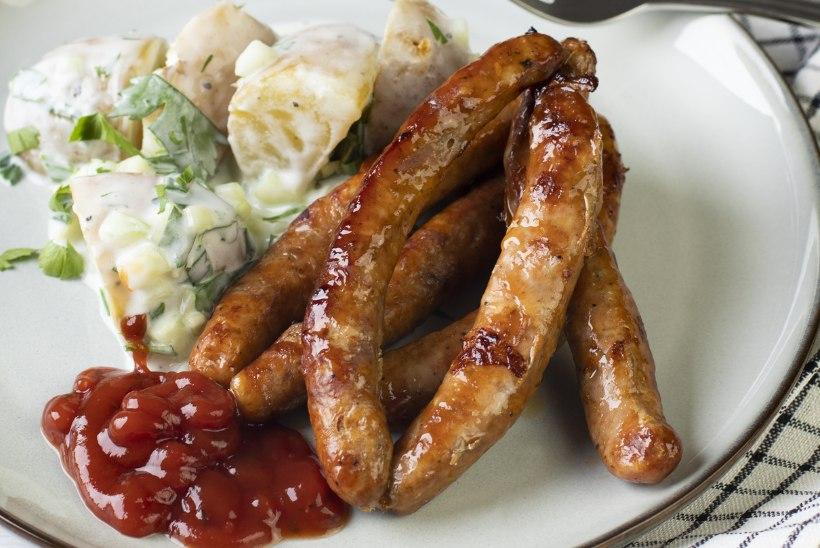 TIIU TESTIB   Lambasooles grillvorstide edu võti: isuäratav välimus, rohkesti liha