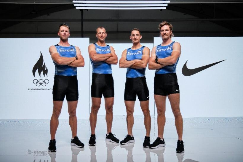 Selgus Eesti koondise koosseis Tokyo olümpiamängudeks