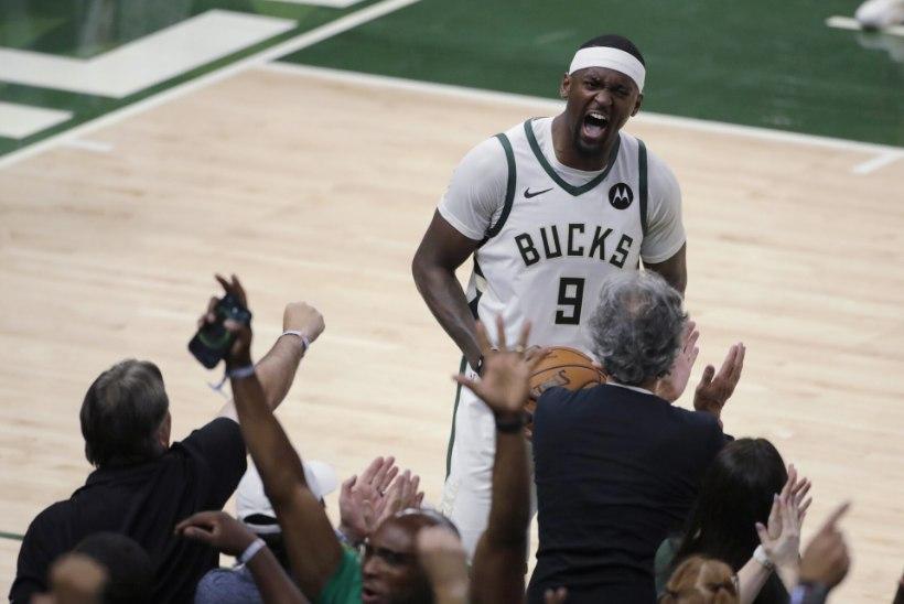 VIDEO   Milwaukee alistas Atlanta, finaalist lahutab üks võit