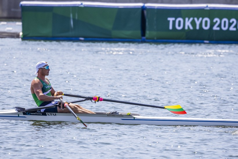 ÕL TOKYOS | GALERII | Rio medalit kaitsev neljapaat harjub Jaapani kuumusega