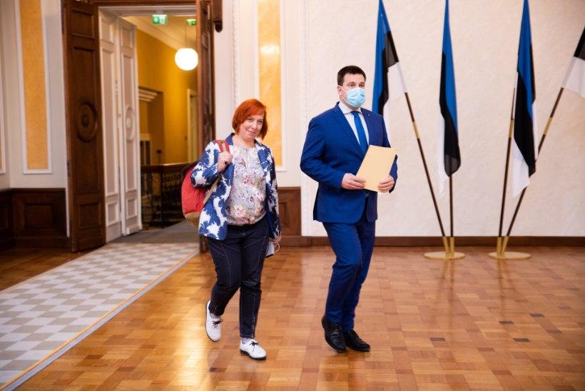 Tanel Kiik: Mailis Repsi erakonnast välja heitmine pole jutuks olnud