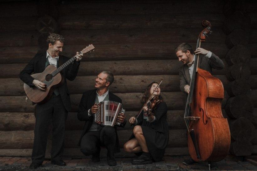 VÄRSKE PUHANG FOLGIL: Pärlin hingab Curly Stringsile kuklasse