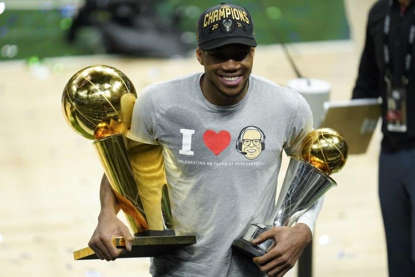 Giannis Antetokounmpo tõus tänavalt NBA meistriks — kas oleme läbi aegade parima tunnistajaks?