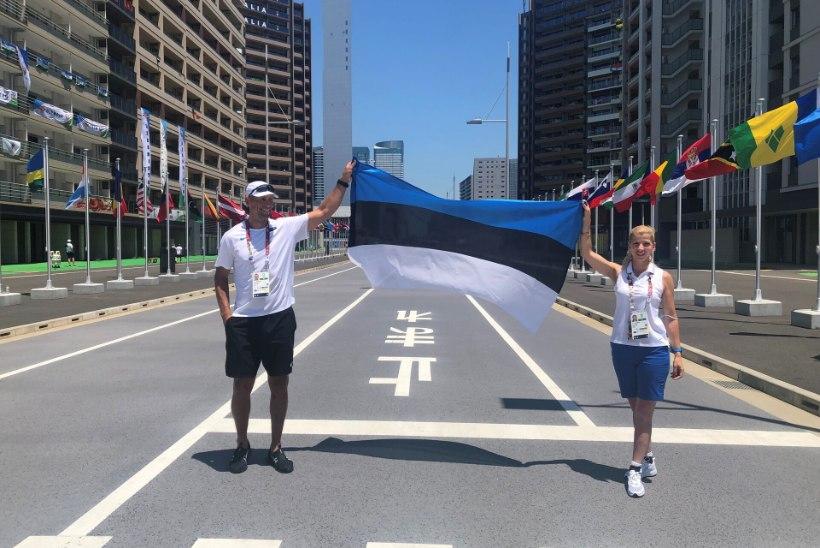 ÕL TOKYOS | Lipukandjad – üks esimesel olümpial ja šokis, teine viiendal, aga jõuab esmakordselt avatseremooniale!