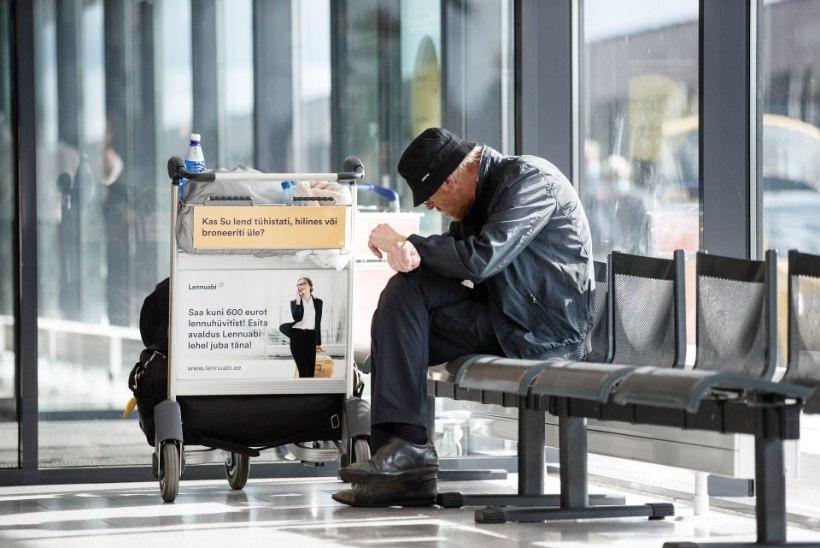 MÜSTEERIUM: soomlane elab juba pool aastat Tallinna lennujaamas