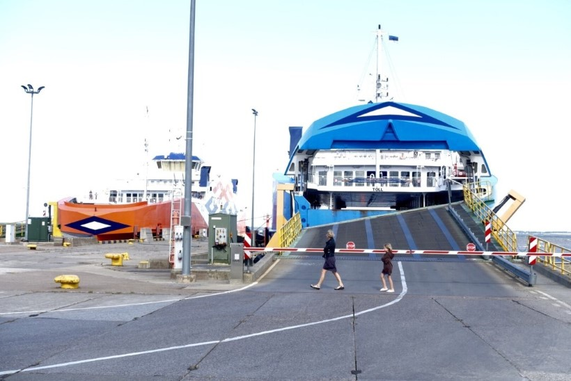 Praamiga vastu rampi: TS Laevad on valmis presidendi auto kahjud hüvitama