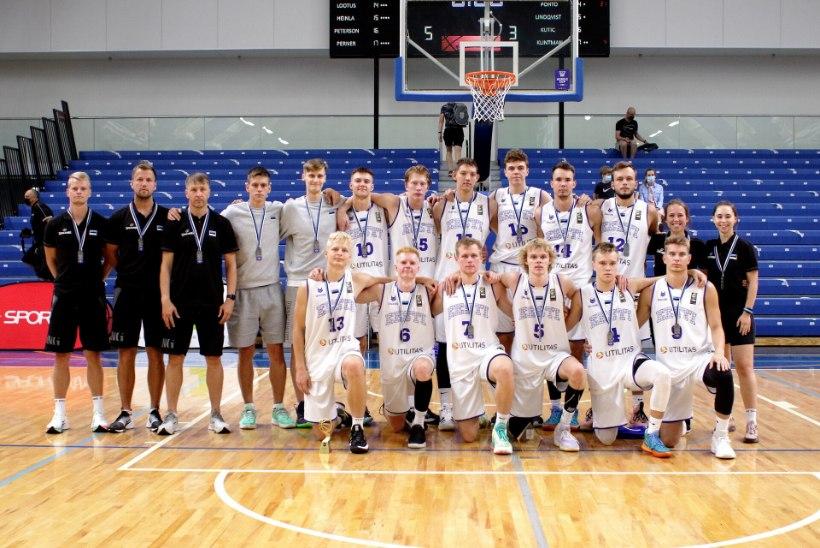 Eesti korvpalli tulevikulootused kaotasid finaalis Rootsile
